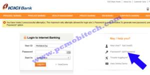 icici-bank-click-on-get-password-option