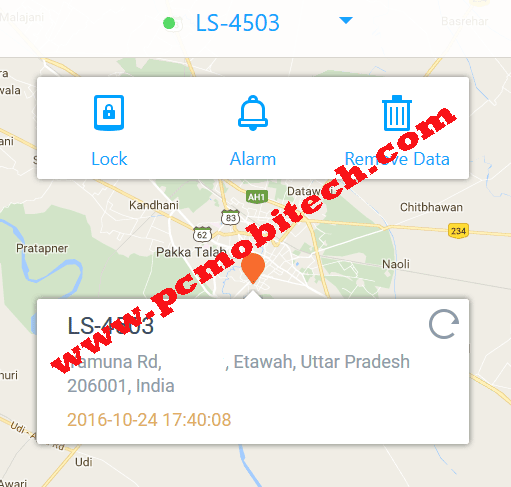 Locate-device-360-security-in-online-mode