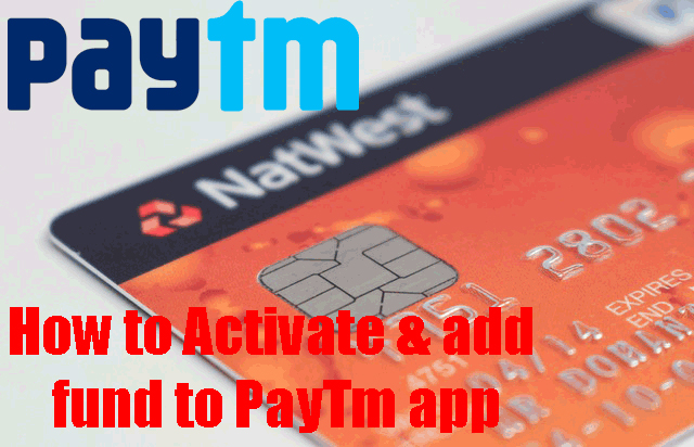 How to Activate Paytm App and add fund to Paytm wallet