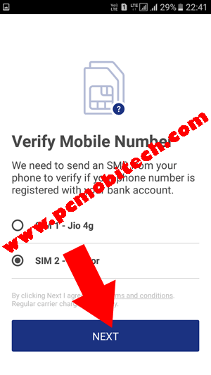 Download,-Install-and-activate-BHIM-app--Verify-Mobile-Number--www.pcmobitech.com