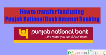 How to transfer (Fund) money using PNB NetBanking.