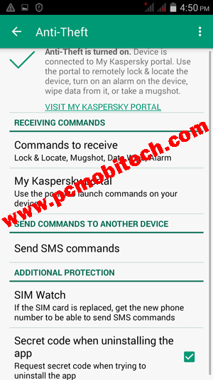 kaspersky-antitheft-settings