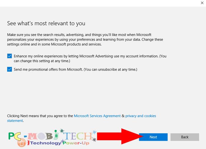 how to create a new microsoft account on my windows phone