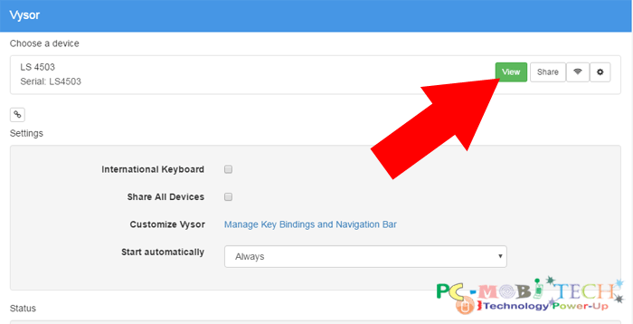 Howto Download, Install, and Use Vysor app in Chrome Browser PC