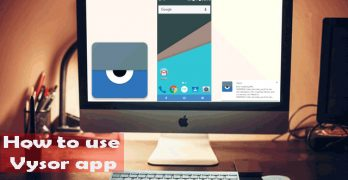 Howto Download, Install, and Use Vysor app in Chrome Browser PC.