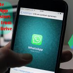 How to delete WhatsApp Chat History Data Backup from Google Drive.