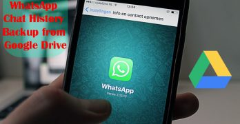 How to delete WhatsApp Chat History Data Backup from Google Drive