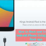 How to root and unroot any Android Phone using Kingo Root PC app.