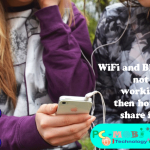 Share or transfer files from one device to another without WIFI and Bluetooth.