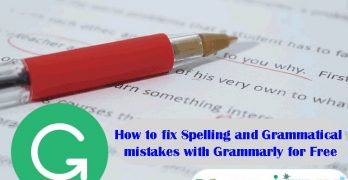 How-to-Fix-Spelling-and-Grammatical-mistakes-with-Grammarly-for-free