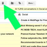 How to Delete All Inbox Email Messages from Gmail Account at one click.