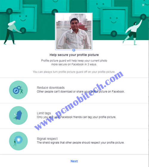How to Enable & Disable Facebook Profile Picture Guard 2