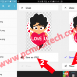 Share Unlimited Hike Stickers to WhatsApp, Facebook, and Other apps.