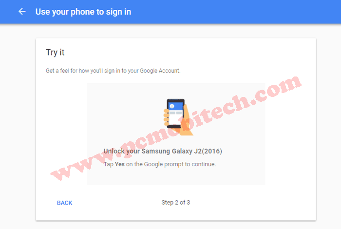 How to enable Google Prompt security on Google Account 6
