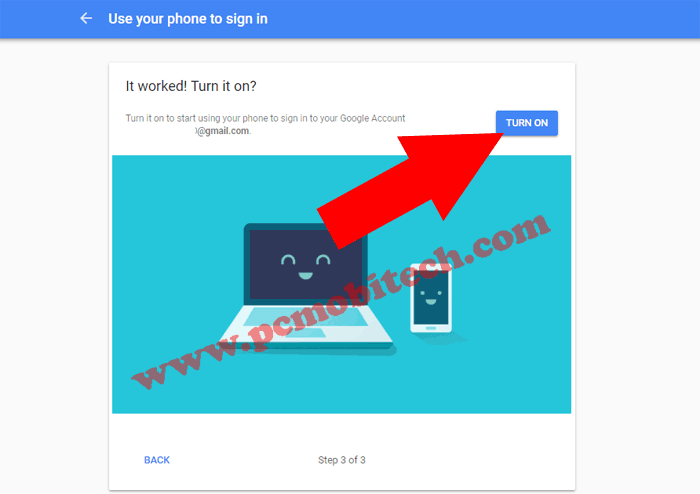 How to enable Google Prompt security on Google Account 7