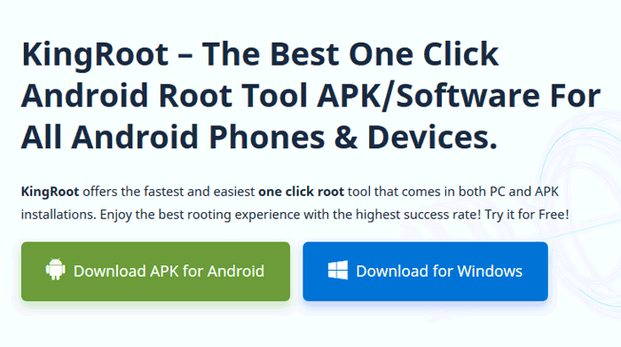 One click root crack 2017