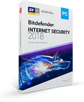 Bitdefender Internet Security 2018 dicount $35 off