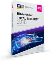 Bitdefender Total Security 2018 $40 off