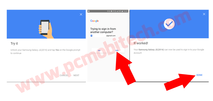 Enable Google Prompt with 2 factor security-4