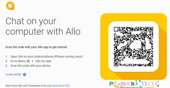 How to Use Official Google Allo Messenger on PC with Chrome Browser.