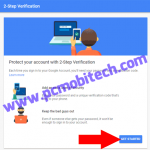 How to Enable-Disable 2-Step Verification Security on your Google Account.