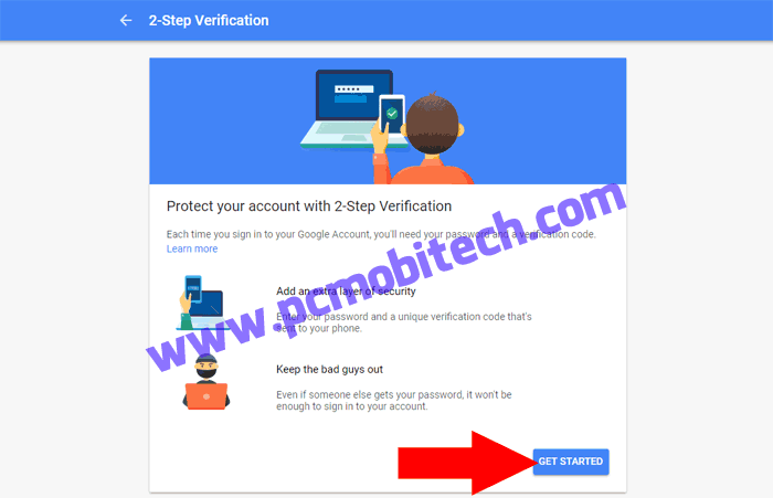 How to enable 2 step verification on Google Account-2