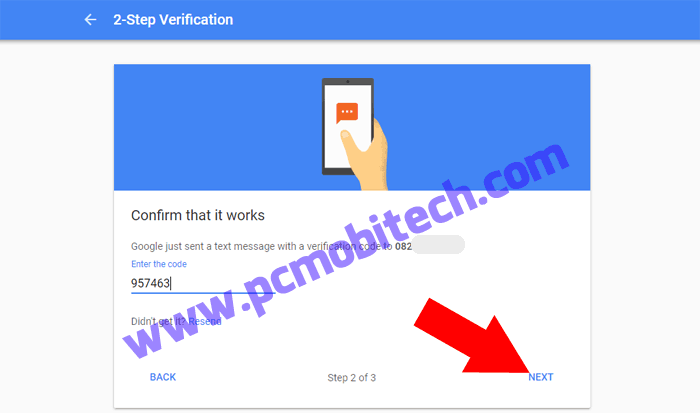 How to enable 2 step verification on Google Account-5