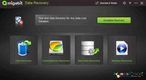 Amigabit-data-recovery-Standard-mode