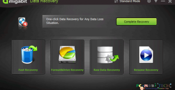 Amigabit Data Recovery Pro features preview and 35% discount offer.