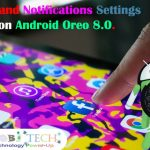 Apps & Notifications settings on Android Oreo 8.0