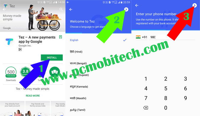How to install activate and use Google Tez UPI app