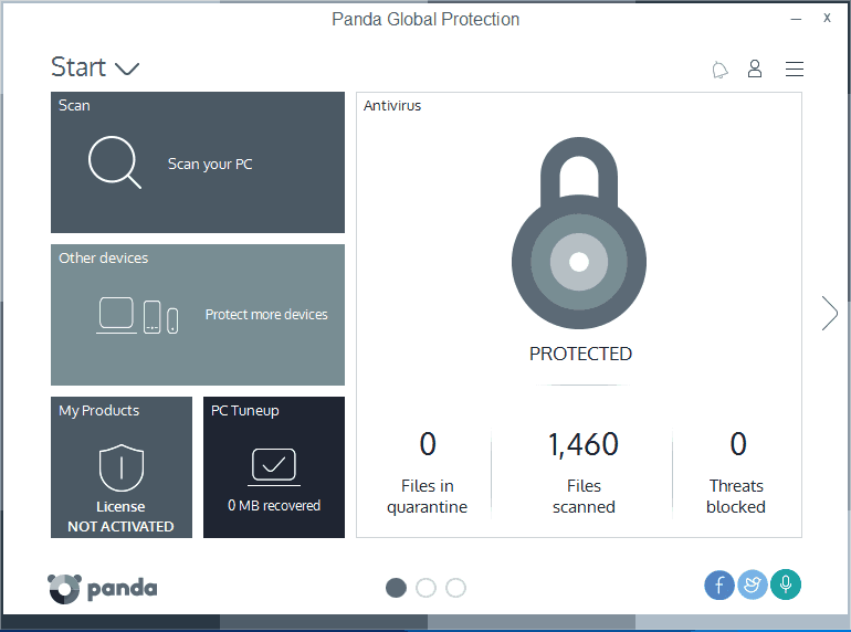 Panda Global Protection 50% discount offer