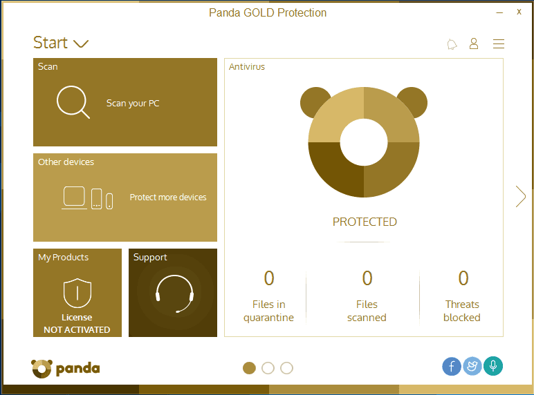 Panda Gold Protection with 50% discount offer