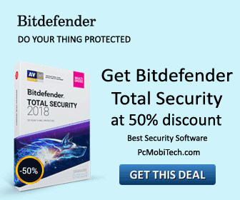 Bitdefender Total Security 50% discount offer