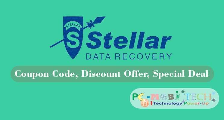 Stellar Data Recovery Products Coupon Code Discount Offer