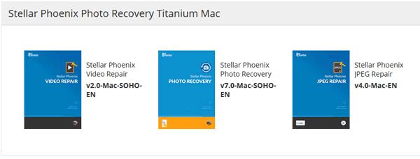 Titanium Bundle Mac (Video Repair+Photo Recovery+JPEG Repair)