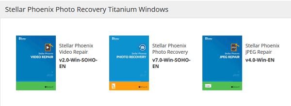 Stellar Phoenix Photo Recovery Titanium Windows Coupon Code, Discount Offer