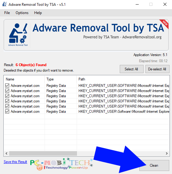 Adware Removal Tool 4