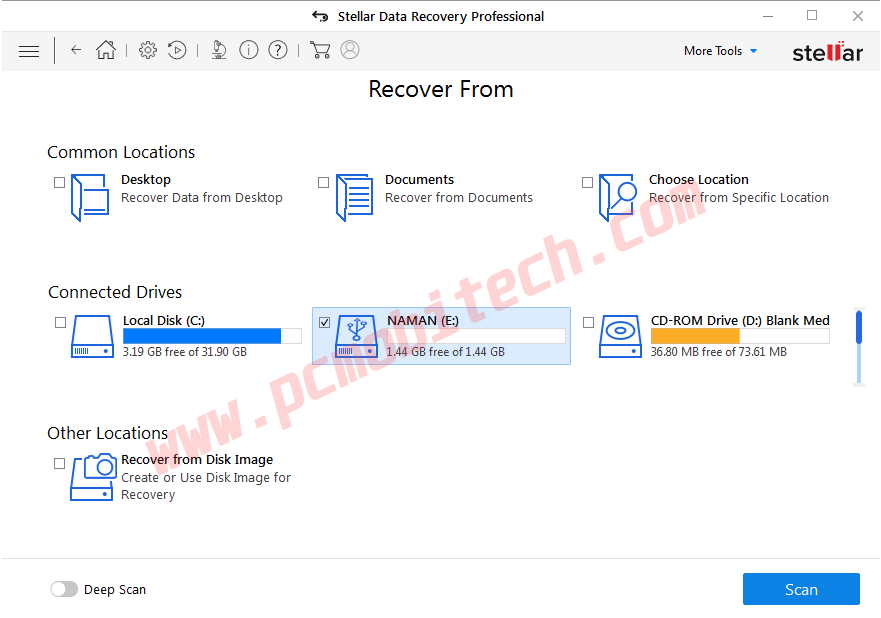 How-to-use-Stellar-data-recovery-Pro-2