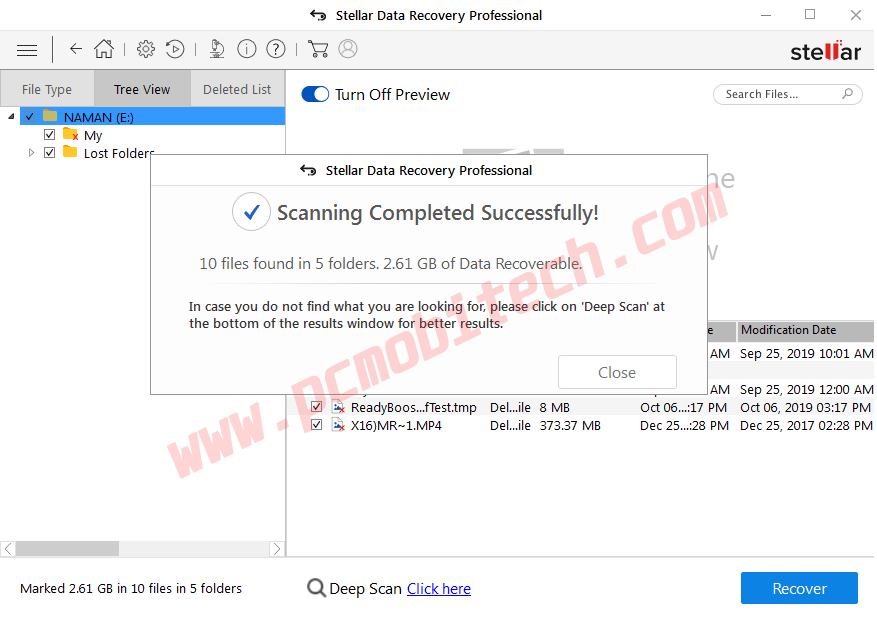How-to-use-Stellar-data-recovery-Pro-3