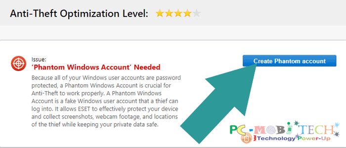 Eset Internet Security Anti-theft activation-How-to-Create-a-Phantom-Windows-Account 8