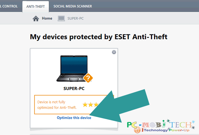 Eset Internet Security Anti-theft activation-Optimize-device-7
