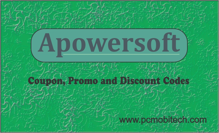 APowersoft Coupons, Promo Codes, Discount Upto 94% Off – June 2018