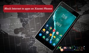 How to block internet to apps on Xiaomi Mi Redmi phones