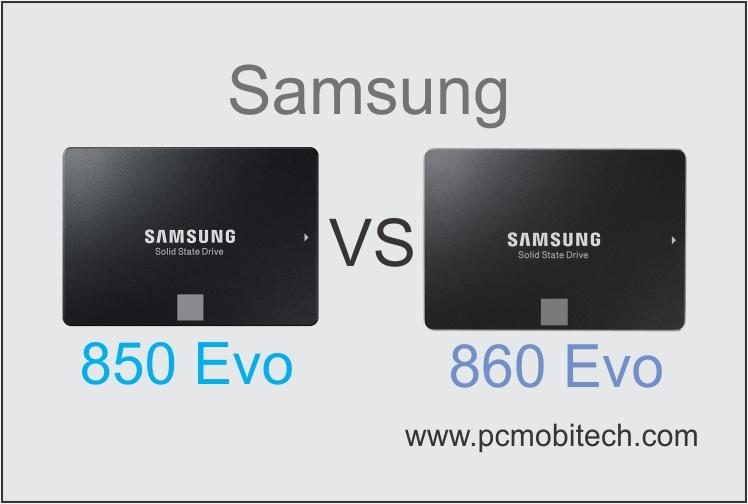 Samsung 850 EVO vs 860 EVO