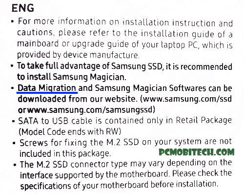 Samsung Installation Guide and Warranty Statement