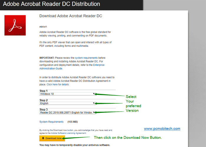 adobe reader dc free trial