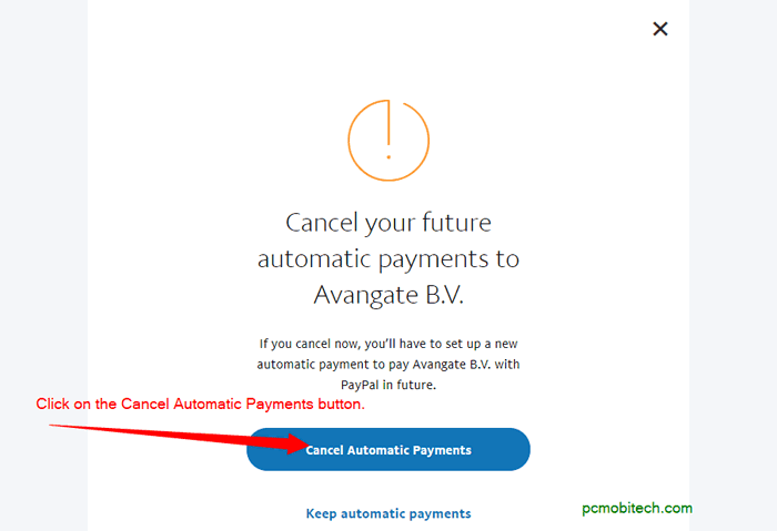 How to Cancel PayPal Recurring Payments? - PCMobiTech