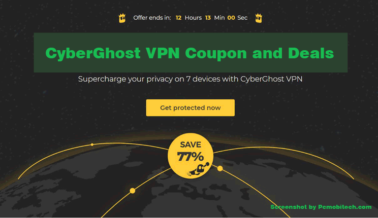 CyberGhost VPN Coupon and deals