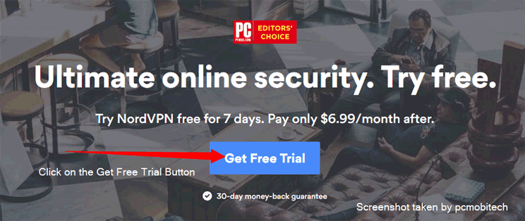 Get NordVPN Free Trial for 7 days